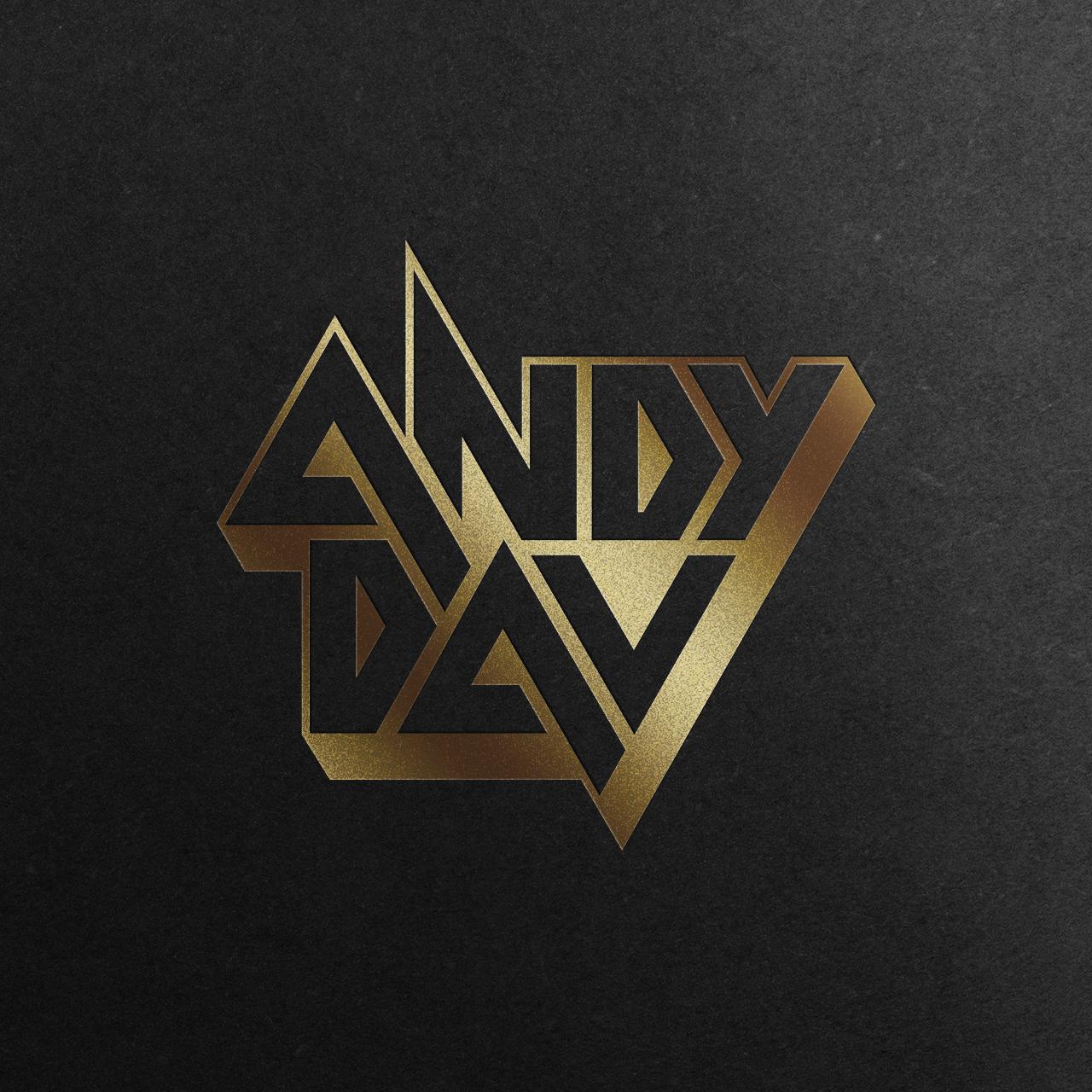 andy dav-logo-mockup-gold
